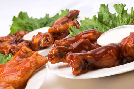 A Variety of Buffalo Wings