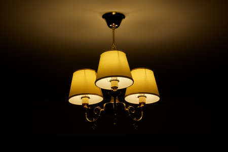 light fitting: Three-lamp cluster  landscape