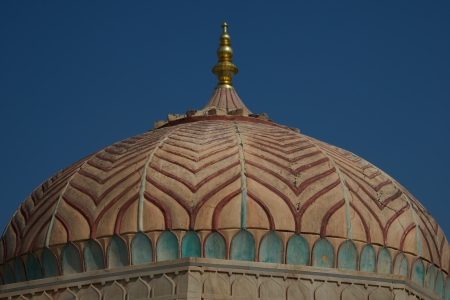 amber fort: Dome at Amber Fort