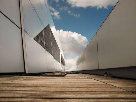 resident: arbeitsweg modern Stock Photo