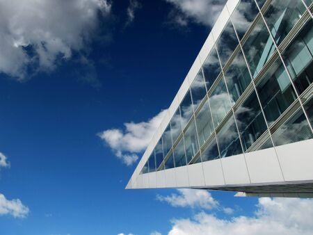 Architektur Glasfassade