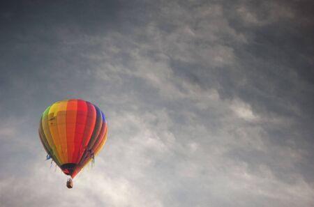 reisen: Ballon Fahrt Stock Photo