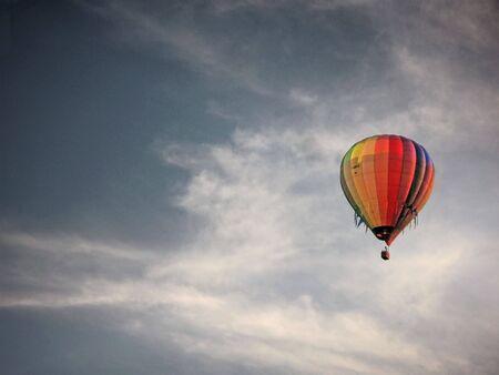 flamme: Ballon Fahrt Stock Photo