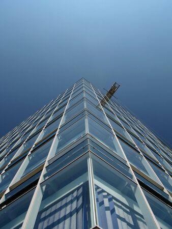 Architektur Glasgebäude hamburger Hafen