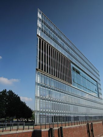 Architektur Glasgebäude hamburger