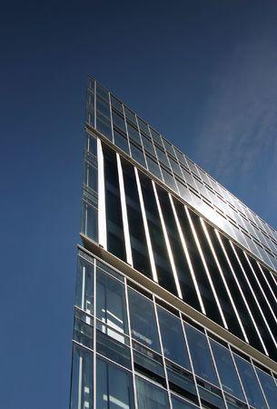 futuristically: ZDF Geb�ude Hamburg Stock Photo