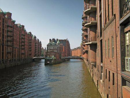 clinker: Speicherstadt Hamburg