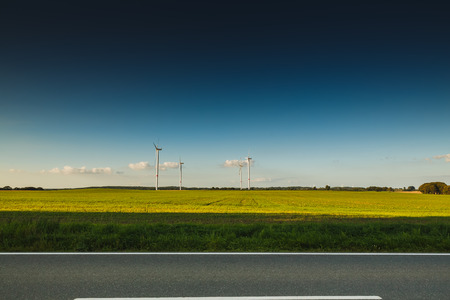 wind force: Wind farm road