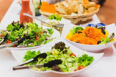 Gemischtes Salat Mittagessen Lizenzfreie Bilder