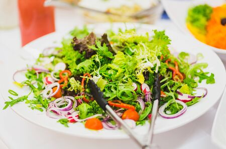 gemischter Salat  Lizenzfreie Bilder