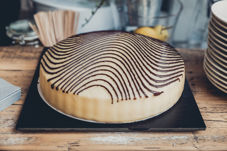 cake time Standard-Bild