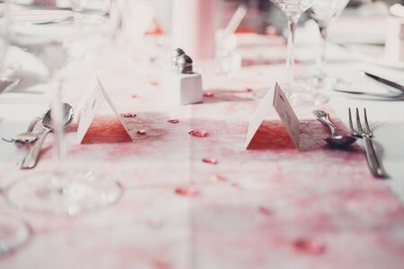 pink Table decoration