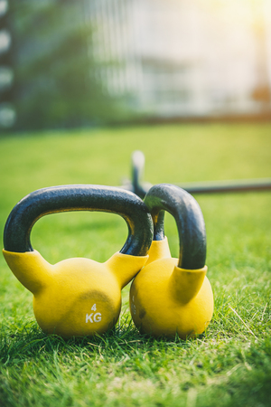 yellow weights 4kg