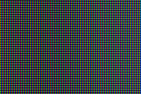 The pixels of the monitor screen. The pixels of the screen matrix.