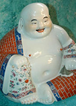 chinese buddha: happy chinese buddha statue