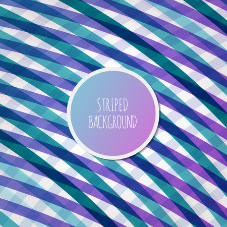 blue gradient: Purple-green Rounded Lines Background. Vector Illustration