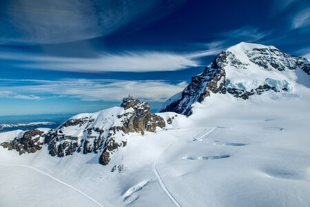 the jungfraujoch oberservatory in switzerland