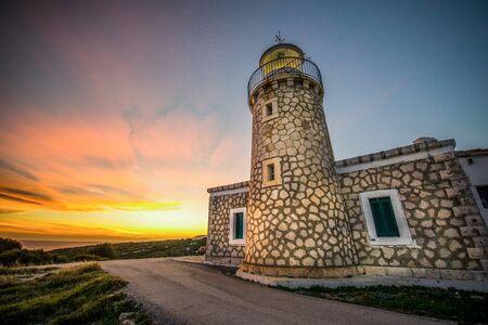 a lighthouse in volimes zakynthos