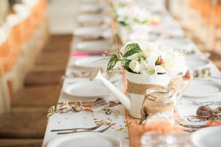 Beautiful table settings for your wedding