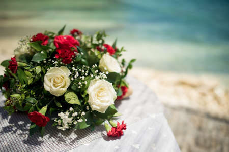 Stunning flowers for an exquisite wedding