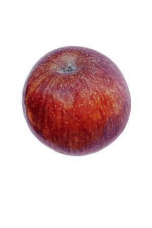winesap apple: Stayman apple (Malus domestica Stayman). Called Stayman Winesap also. Image of single apple isolated on white background