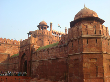mughal: The Red Fort of the Mughal emperors of India