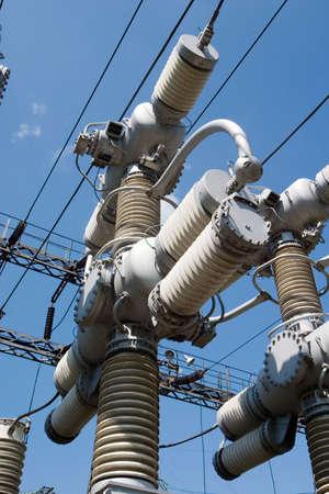 amperage: transmission line tower
