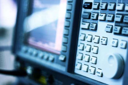 analyzer: Oscillometer - Spectrum Analyzer. Special toned, very low DOF