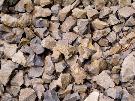flint: Broken Flint Rocks Used for Arrowheads