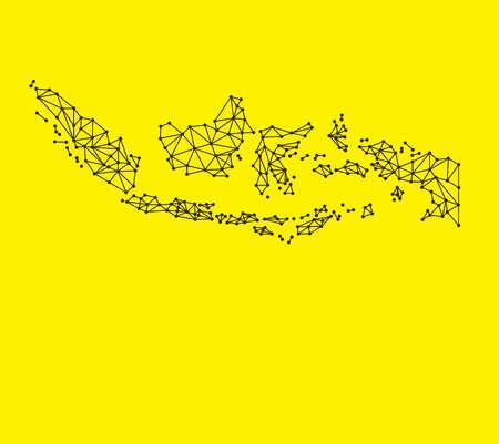 indonesische Karten