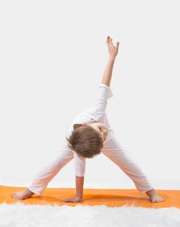 relaxation exercise: Baby yoga