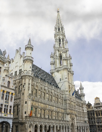 Grand Place and Grote Markt in Brussels, Belgium  Stock Photo - 13289792
