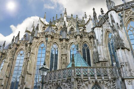 Cathedral in Den Bosch. Netherlands photo