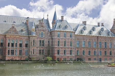 Binnenhof Palace in Den Haag,  Netherlands. Dutch Parliament buildings Stock Photo - 13643636