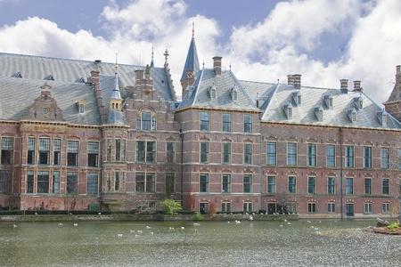 Binnenhof Palace in Den Haag,  Netherlands. Dutch Parliament buildings Stock Photo - 13643636