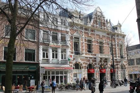 Hague Street. Spring. Den Haag. Netherlands