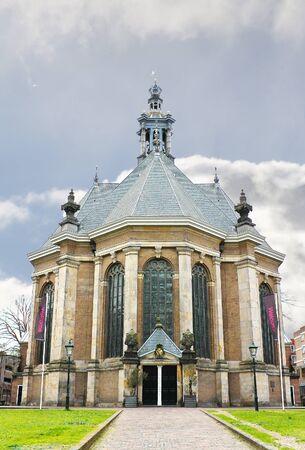 den: The new church in The Hague. Den Haag, Netherlands. Stock Photo