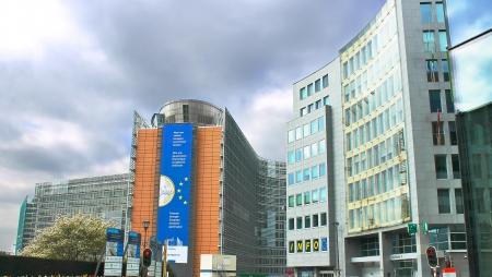 European Parliament in Brussels. Belgium