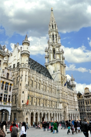 Grand Place and Grote Markt in Brussels, Belgium  Stock Photo - 14376212