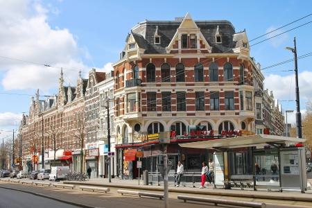 ROTTERDAM, NETHERLANDS ? APRIL 1: The city street on 01.04.2012 in Rotterdam, Netherlands.