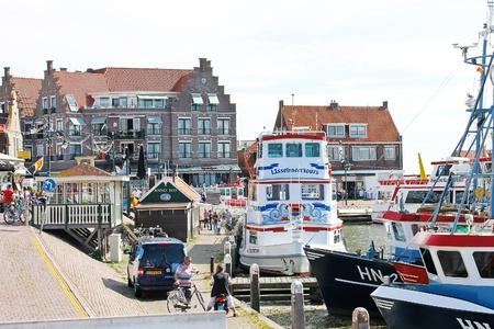 volendam: In the port of Volendam. Netherlands