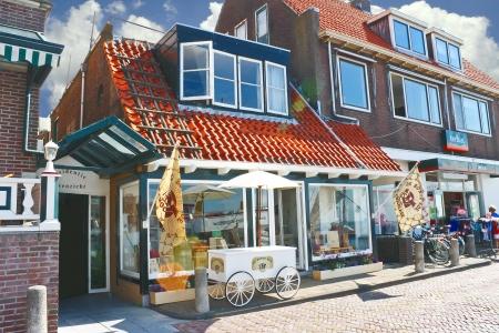 volendam: Volendam on the street. Netherlands