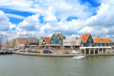 volendam: In the port of Volendam. Netherlands