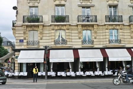 Parisian on the street of Paris. France