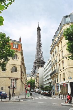 Auf den Straßen von Paris. Frankreich