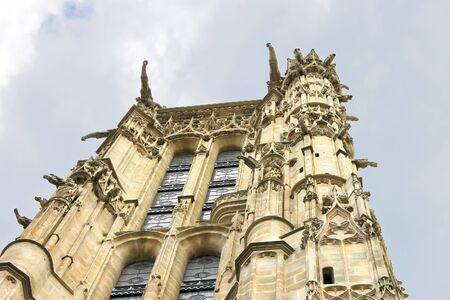 jacques: Tower of St. Jacques in Paris. France