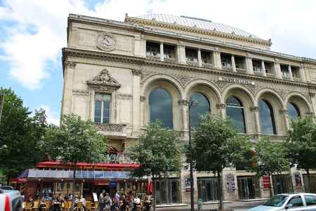 Theatre de la Ville in Paris. France