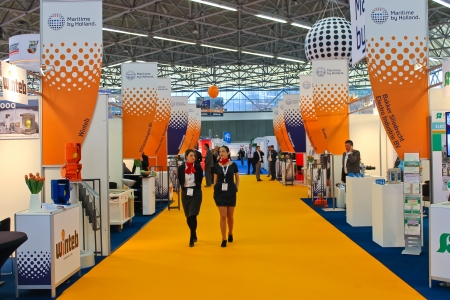 expositor: La exposici�n offshore Energy 2012. Amsterdam. Pa�ses Bajos