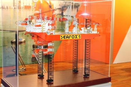 construction navale: Tenez entreprise de construction navale � l'exposition Offshore Energy 2012. Pays-Bas Editeur
