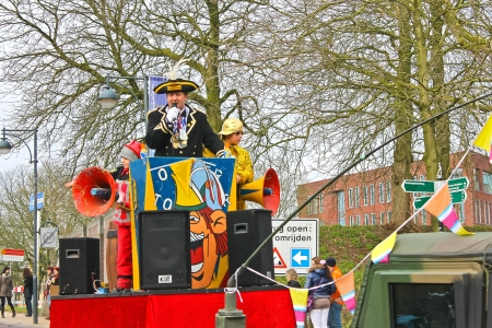 Annual Winter Carnival in Gorinchem. February 9, 2013, The Netherlands Stock Photo - 18113668